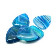 Agate Tones - Blue Lace - 1 Guitar Pick | Timber Tones